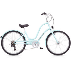 "Electra Townie 7D EQ 26"" Damer, arctic blue"